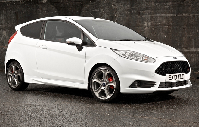 The New Ford Fiesta ST 2013