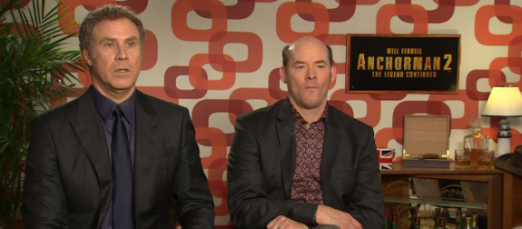 Anchorman 2 Cast Talk To Top Gear! (VIDEO)