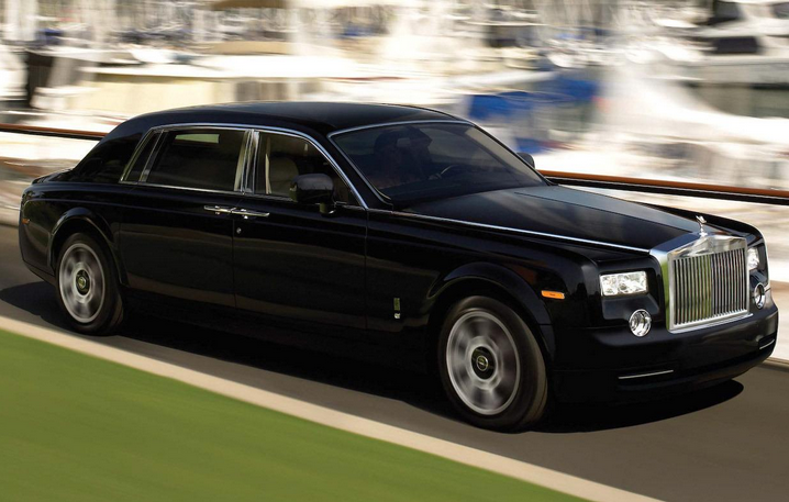 The Rolls-Royce Phantom Extended Wheelbase