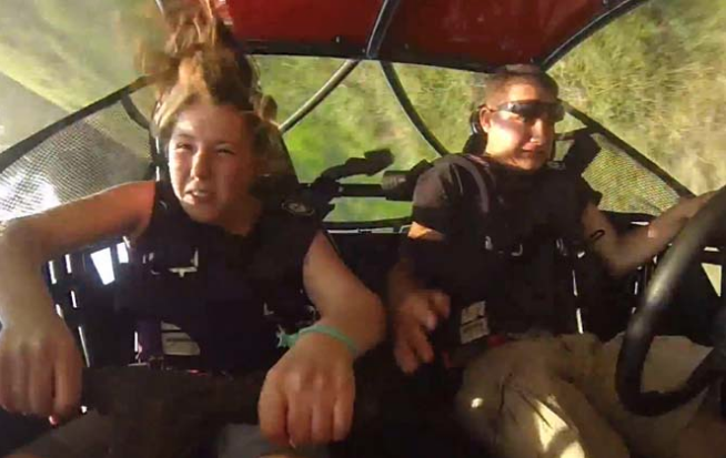 Young couple survive ATV crash