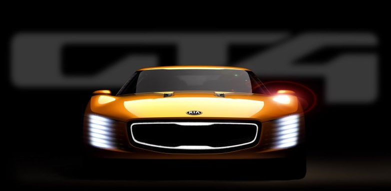 Gt4 Stinger by Kia