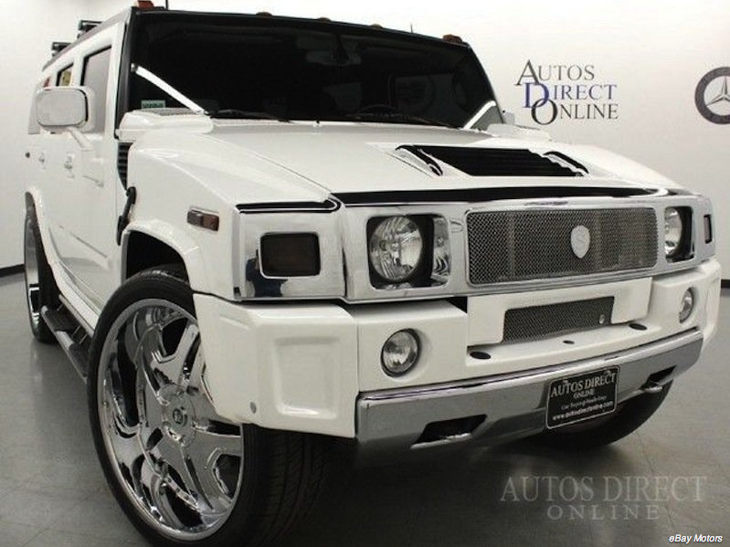 LeBron James' Hummer For Sale On Ebay