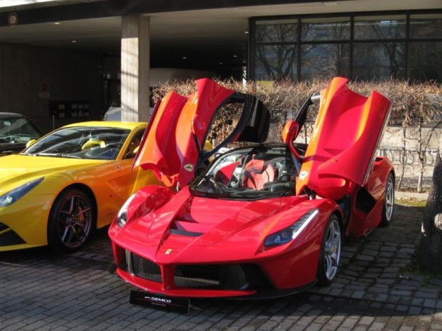 La Ferrari for sale, the first of 499