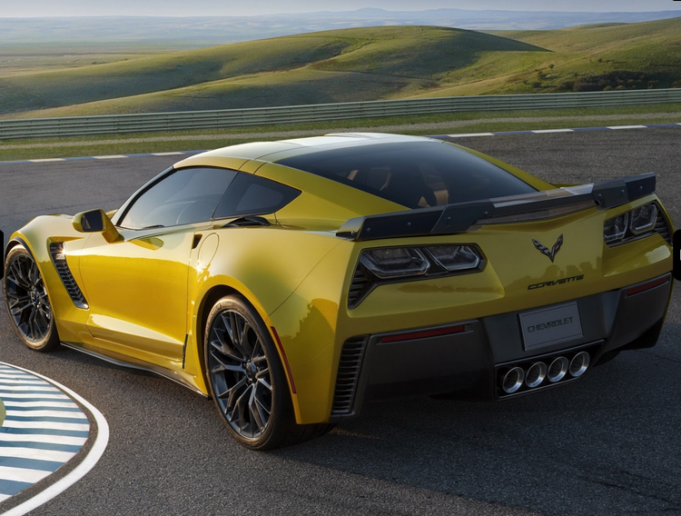 New Corvette Stingray Z06