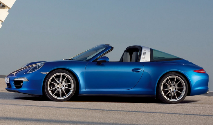 Porsche Blows the Top Off Retro-Sexy 911 Targa, Priced from $101,600