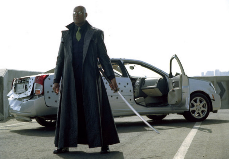 Morpheus From The Matrix Makes Kia's Super Bowl Ad Super Cool!