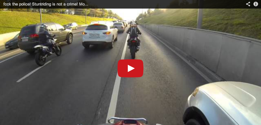 These Russian Bikers Do Not Give A Single F**k About Police (VIDEO)