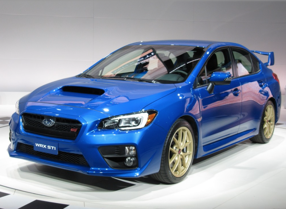 2015 Subaru WRX STI revealed