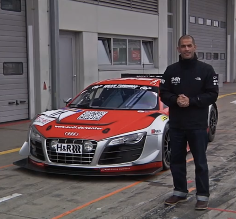 Audi R8 LMS Ultra Race Car at Nurburgring - CHRIS HARRIS