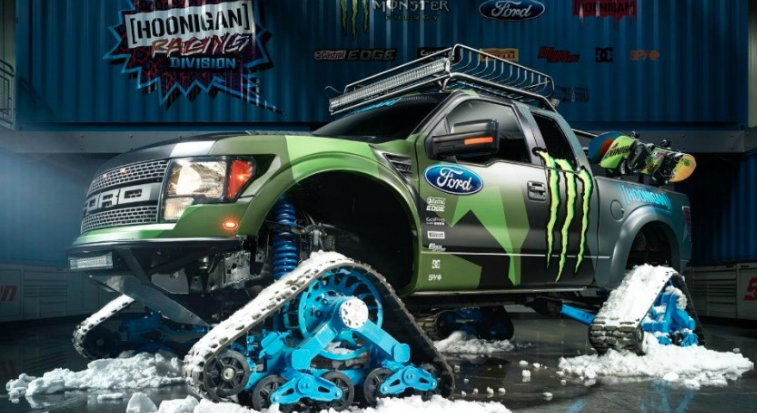 Ken Block's Ford RaptorTrax
