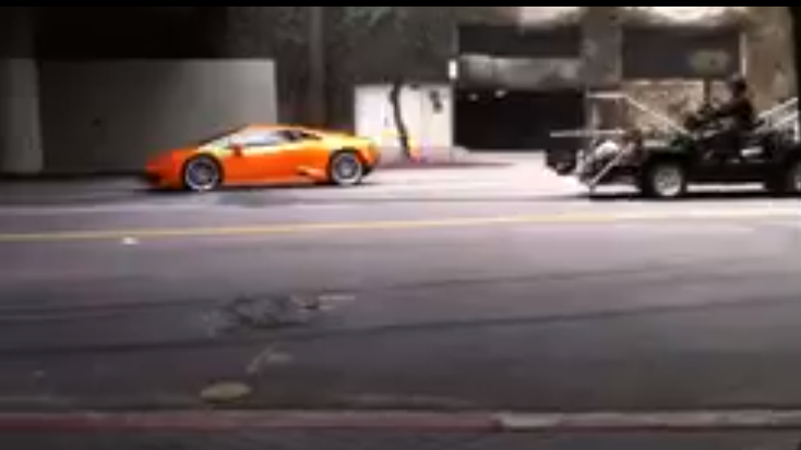 Watch The New Lamborghini Huracan Powerslide