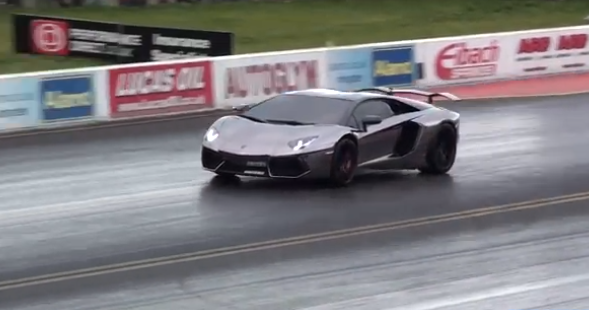 Aventador Drag Racing At Paul Walker Memorial Day Is Fitting Tribute! (VIDEO)