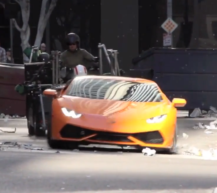 Watch A Lamborghini Huracan Tear Through The Backstreets Of LA (VIDEO)