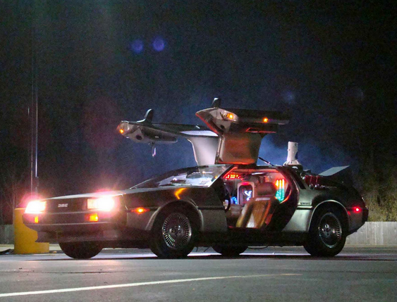 DMC. Concept Takes DeLorean Back To The Future (VIDEO)