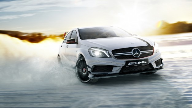 AMG Driving Academy, Winter Sporting Basic, A 45 AMG, 2013