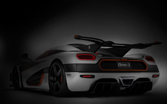 Koenigsegg Agera One 1 Rear Teaser