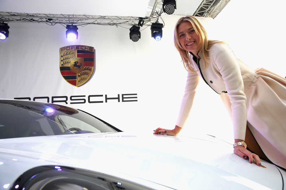 Get Ready for Sochi with the Porsche Panamera GTS by Maria Sharapova