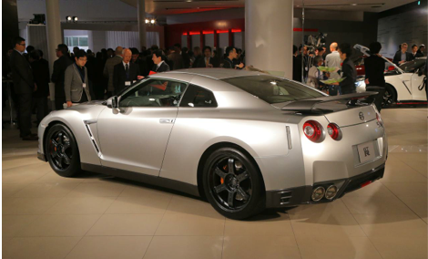 The Nissan GT-R Gets Even Faster