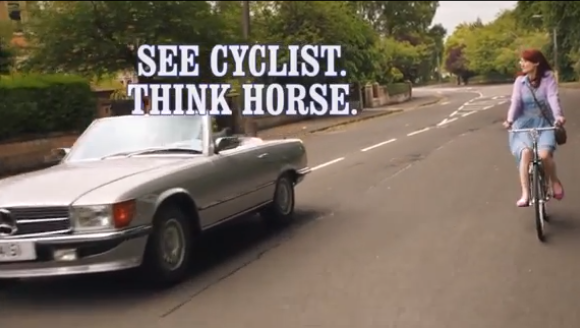 This Hilarious Banned Advert Will Make You Think Twice About Overtaking Cyclists (VIDEO)