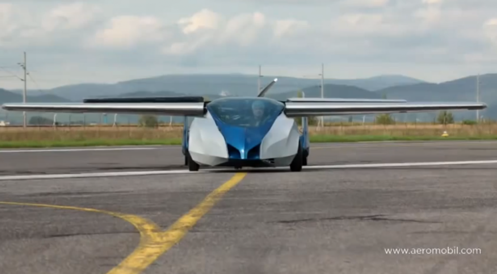 Finally – a real flying car!
