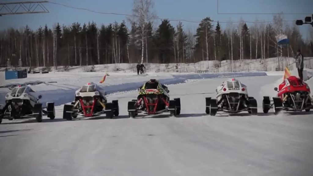 What Car Sport Belongs In The Winter Olympics? This One!!! (VIDEO)