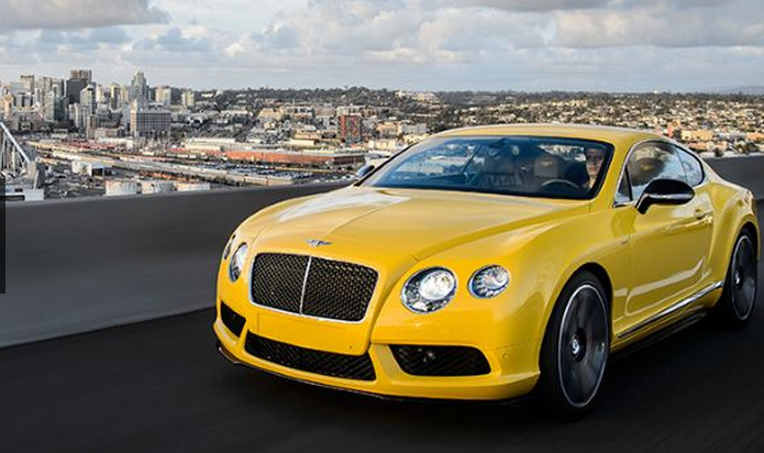First drive: Bentley Continental V8 S - Carhoots
