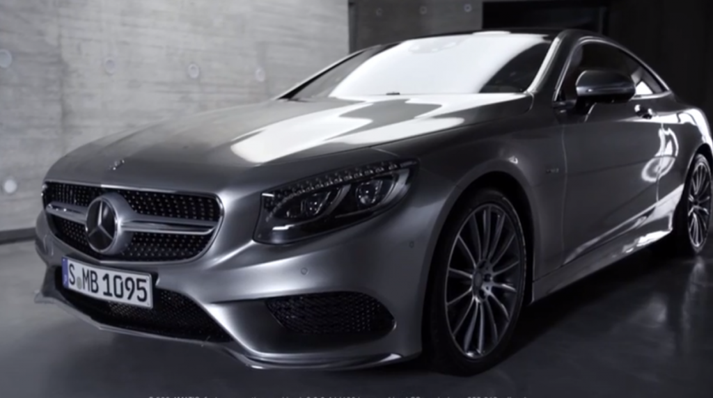 The New Mercedes-Benz S-Class Coupé Officially Unveiled (PHOTOS & VIDEO)