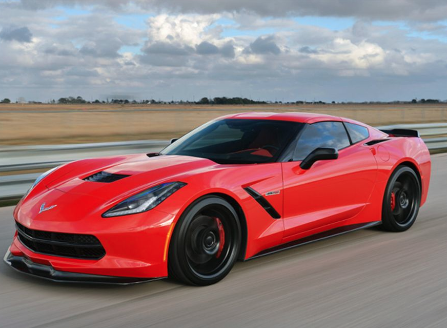 Hennessey HPE700 Twinturbo Corvette Stingray
