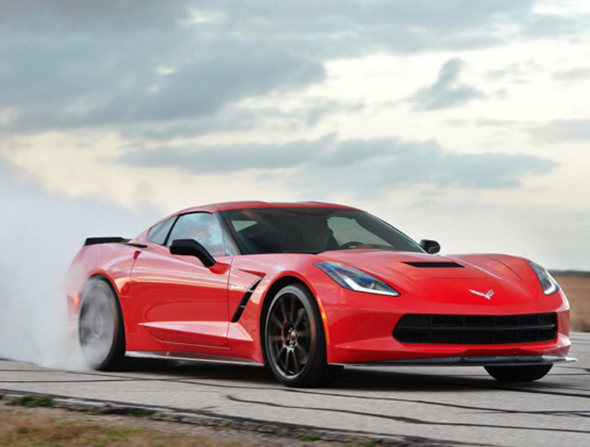 Hennessey HPE700 Corvette Stingray Burnout