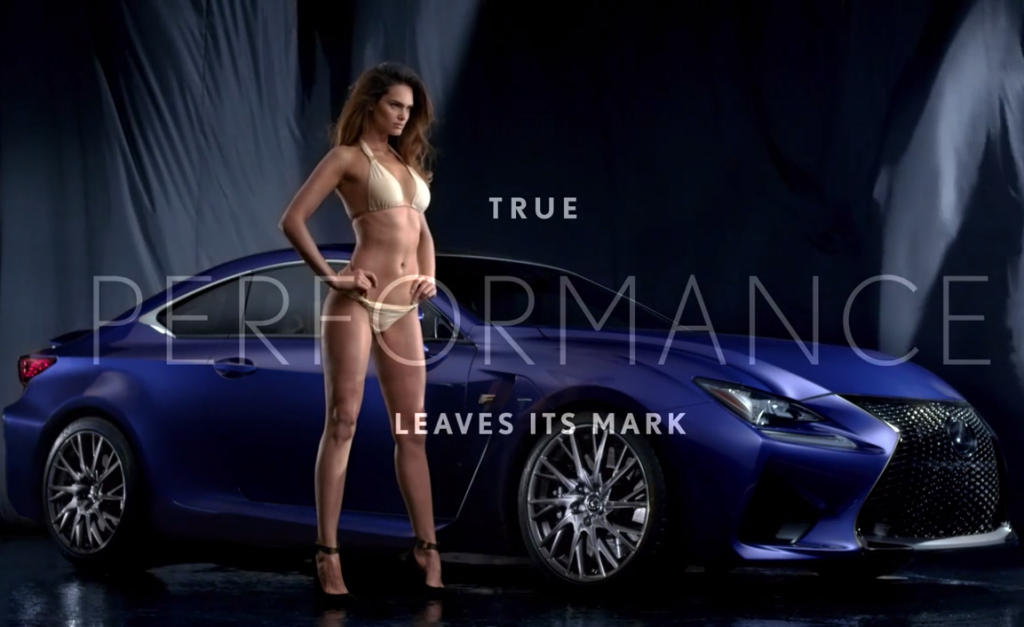 Lexus RC F  Join With Sports Illustrated Swimsuit Issue To Create Sexiest Car Ad Ever! (VIDEO)
