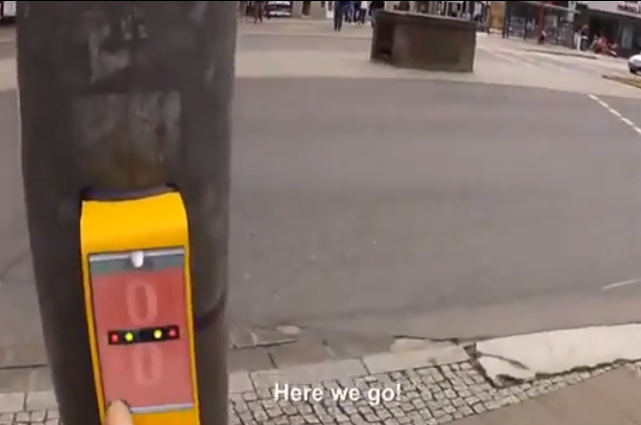 Traffic Lights in Germany for Crossing Roads Video Game!!