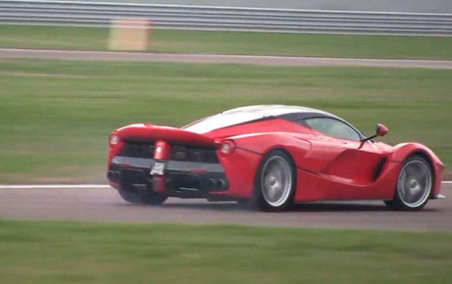Kimi Raikkonen Takes La Ferrari To The Limit (VIDEO)