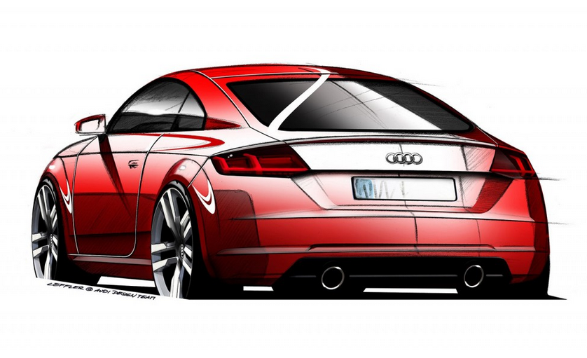 2015 Audi TT Teased Ahead Of Geneva Motor Show