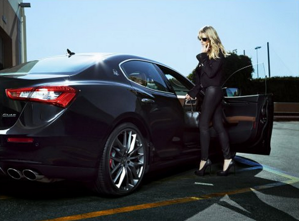 Heidi Klum And Maserati Go Beyond The Swimsuit For Sports Illustrated