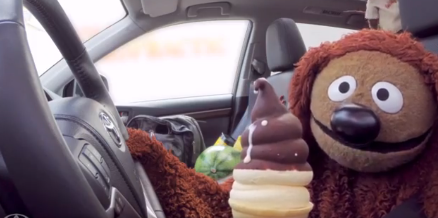 The Muppets and Toyota Highlander Get Ice Cream