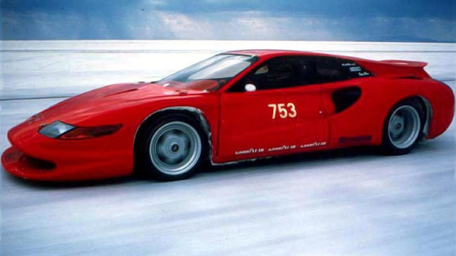 This Bizarre Ferrari Was Designed To Smash A 269 MPH Nazi Speed Record
