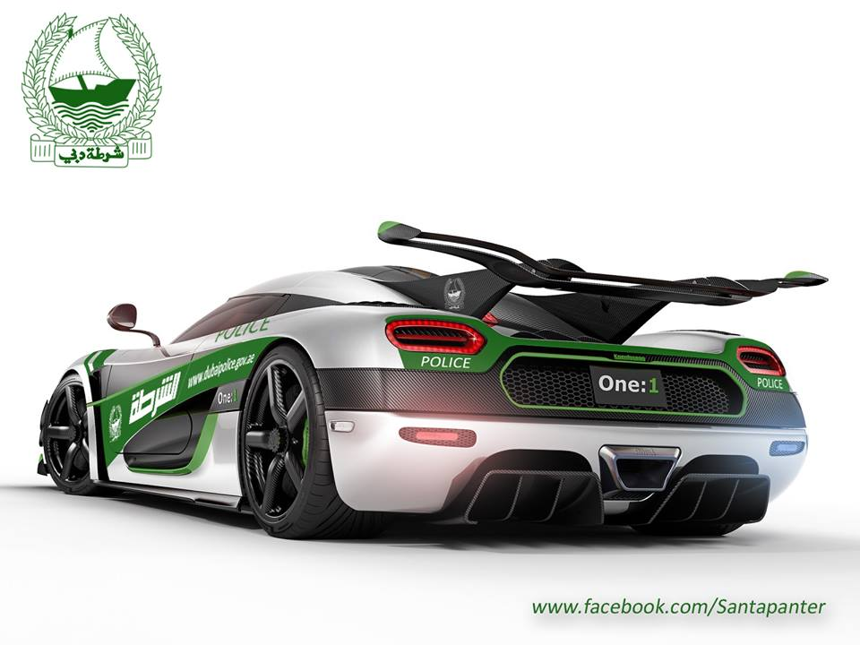 dubai police One-1