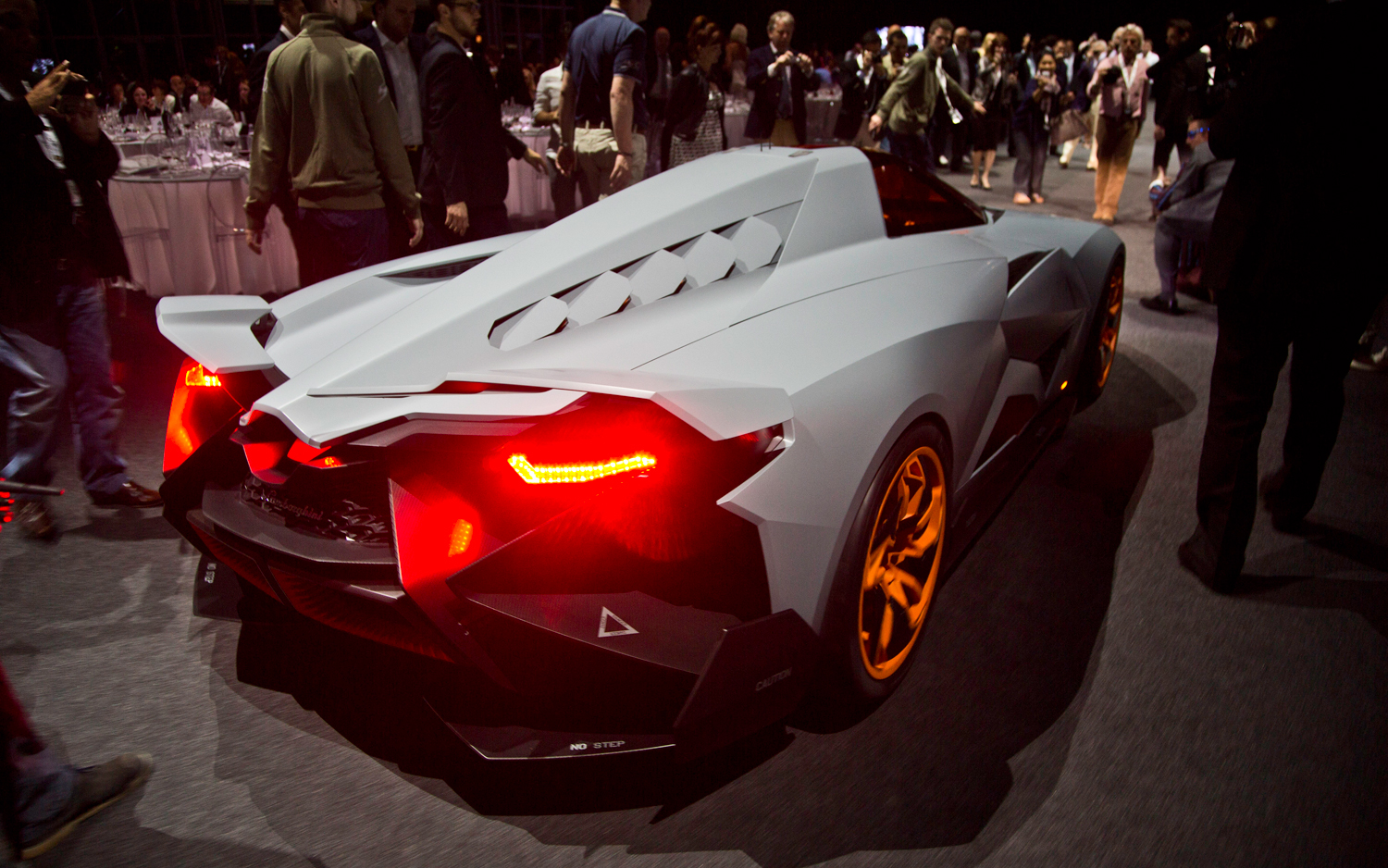 The Lamborghini Egoista The Maddest Bull Ever Carhoots