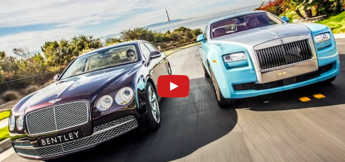 The Bentley Flying Spur vs. Rolls Royce Ghost