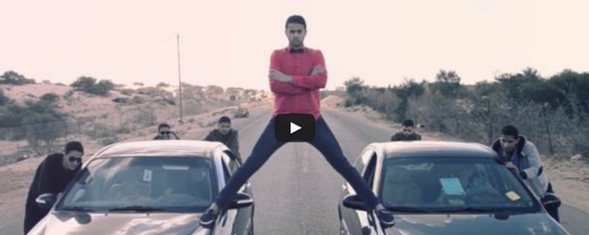 Van Damme Split Stunt Spoof Made By Palestinians