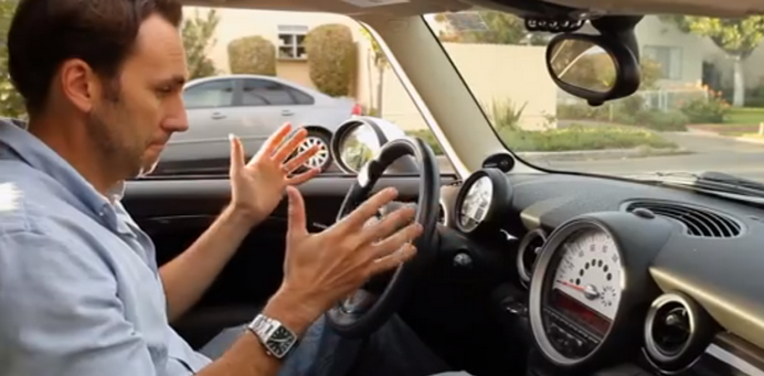 Meet 'Steeri!' Apple's attempt at a Driverless Car! (parody VIDEO)