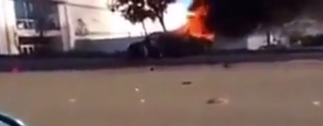 Video Footage Emerges Showing The Distressing Moments After Paul Walker's Car Crash (VIDEO)