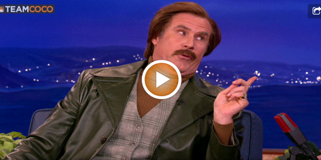 Ron Burgundy Says The Dodge Durango Is a Terrible Car Live On Conan! (VIDEO)