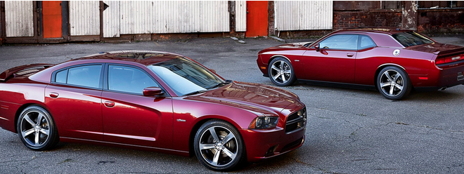 Dodge Reveals New 100th Anniversary Models for Charger and Challenger   (PHOTOS)