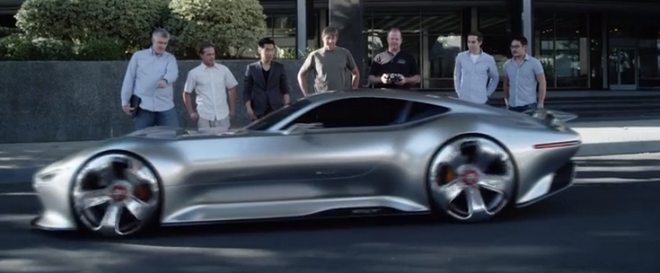 Get Up Close & Personal With The Mercedes-Benz AMG Vision Gran Turismo Concept Trailer (VIDEO)