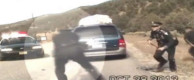 New Mexico Police Open Fire On Minivan With 5 Kids Inside (VIDEO)