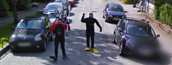 The Craziest Google Street View Images! (VIDEO)