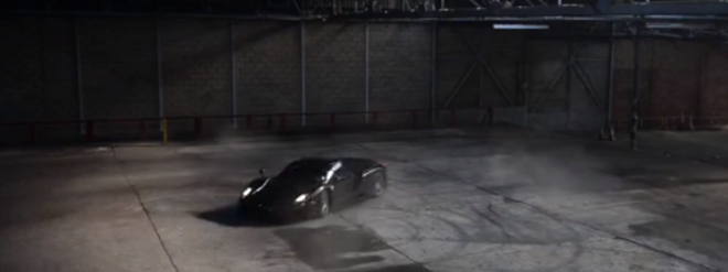 Watch This Ferrari Enzo Do Donuts In An Abandoned Warehouse! (VIDEO)