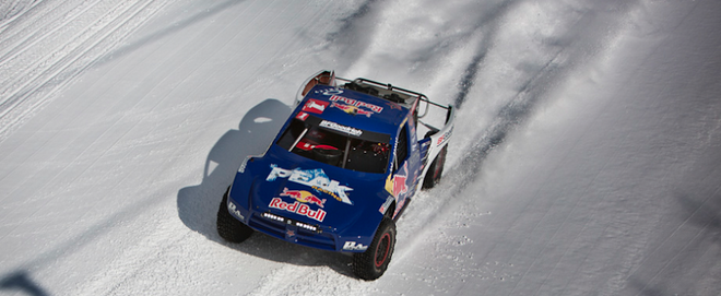 Red Bull Frozen Rush: Off-Road Racing Hits the Mountain Slopes (VIDEO)