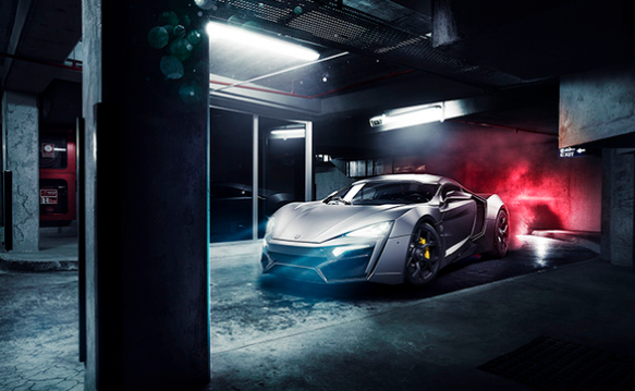 The first Arab supercar - The LykanHypersport
